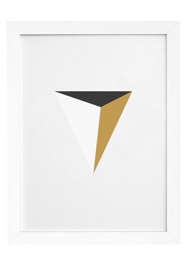 Nordbagen Pyramid Poster Beyaz